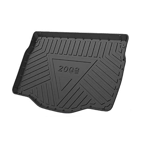 KYLN Coche Alfombrillas Maletero, para Peugeot 2008 2013-2019 Alfombrillas Goma Maletero Anti Sucio Interior