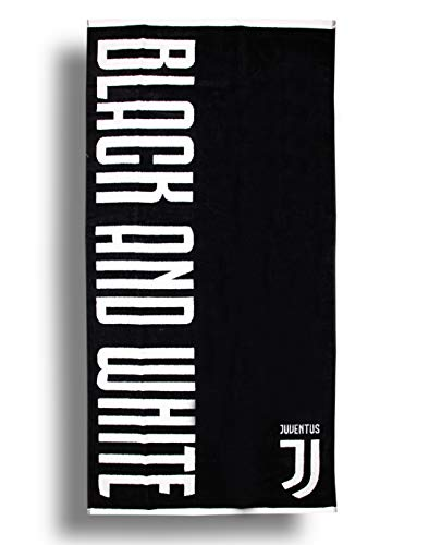 Club de Football Officiel de Plage Grande Taille Serviette de Bain 70/x 140/cm 100/% Coton /épais Noir Serviette Juventus F.C..