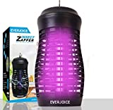 EVERJOICE 2020 Bug Zapper Mosquito Killer,Dynatrap Mosquito Trap,Mosquito Lamp,Indoor and Outdoor Luminous Insect