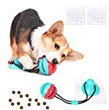 Dog Chew Toys, Puppy Interactive Toy Teething, Rope Suction Cup Dog Toy, Puzzle Treats Dispensing Ball Toy, Tug of War Toy for Medium To Small Dogs, Pet Molar Bite Toy, Best Dog Toys to keep them Busy