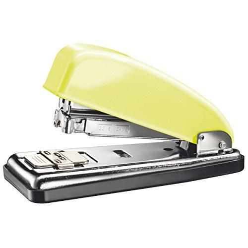 PETRUS 624402 - Grapadora para oficina gama RETRO modelo 226 color mellow yellow (en blister)
