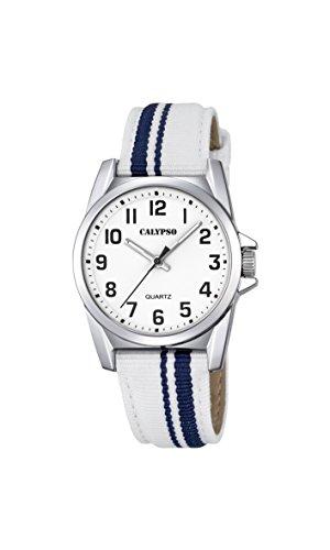 Calypso Reloj Análogo clásico para Unisex de Cuarzo con Correa en Nailon K5707/1