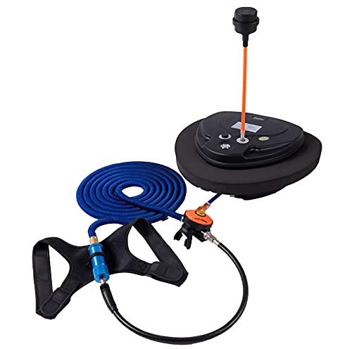 Set di Immersioni Ricaricabili, Pompa per vasche da Immersione Portatile per Adulti, Dura 2,7 Ore di Durata della Batteria, Attrezzature per Immersioni per la respirazione SottAcqua con respiratore