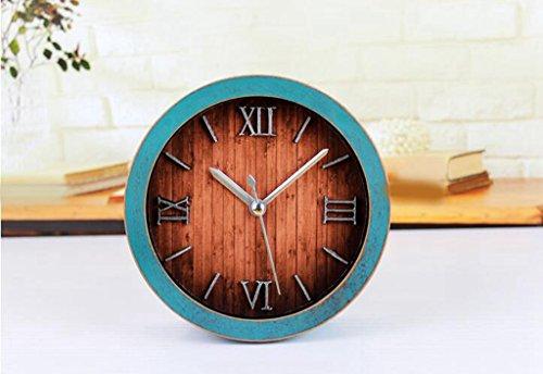 Longless Continental digitale Wecker Holz stumm 12CM