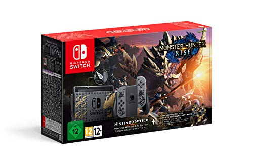 Nintendo Switch edición Monster Hunter Rise (Edición Limitada)