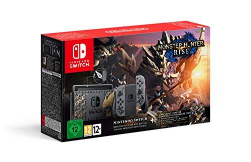 Nintendo Switch Edizione Speciale Monster Hunter Rise -...