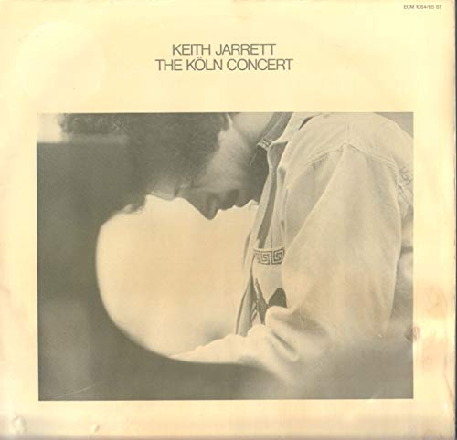 Jarrett, Keith The Koln Concert 2LP ECM ECM1064-5 EX/EX 1975 double LP, German pressing