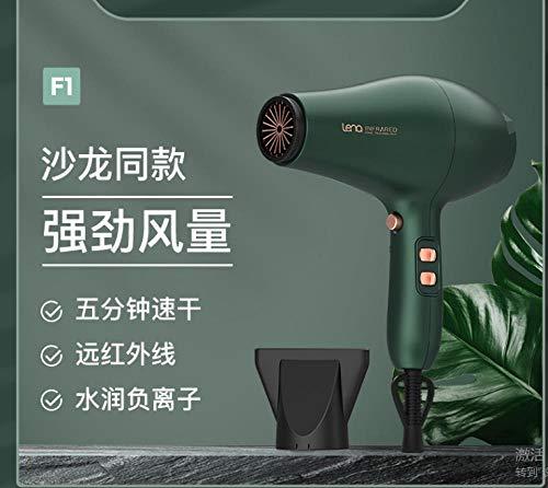 Secador de pelo pequeño salón de peluquería de alta potencia peluquería especial estilista soplando mosca dormitorio silencioso hogar