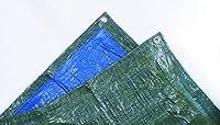 Dimensions : 5 x 8 mètres Multi-usages bâche légère 68g/m² en polyéthylène Œillets métalliques de fixation tous les mètres Périmètre et coins renforcés