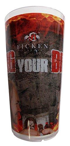 Ficken Likör - Bang Your Becher - Becher 0,2 l.