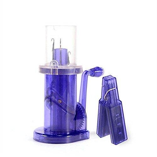 Liamostee Tricotin Automatico Máquina de tejer a mano bobina de plástico tejedor de lana enrollador de manualidades DIY pulsera de tejer herramientas
