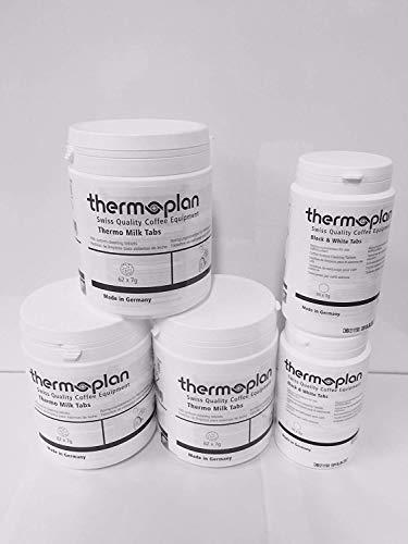 Thermoplan Black & White Tab Set (3x Thermo Milk Tabs, 2x Reinigungstabletten)
