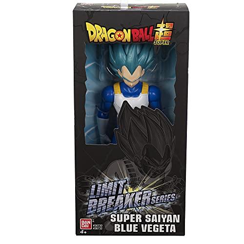 Bandai - Dragon Ball Super - Figurine Géante Limit Breaker 30 cm - Super Saiyan Vegeta Blue - 36732