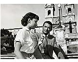SANLIUJIU Cartel De Lienzo Vacaciones En Roma Cartel Retro Nostálgico Bar Decoración del Hogar Pintura 50 * 70Cm Mano De Obra Exquisita Sin Marco