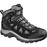 Salomon Authentic LTR GTX, Zapatillas de Trail Running para Hombre, Gris/Negro (Magnet/Black/Quiet Shade), 40 2/3 EU