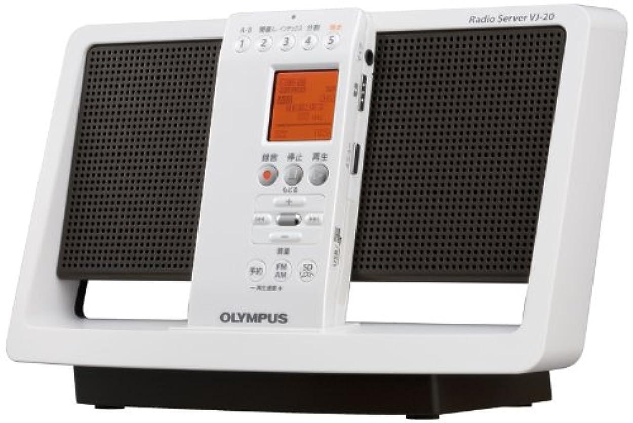 ヒール休眠発信オリンパス ラジオ ラジオサーバー VJ-20