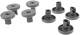 comprar comparacion Universal Juego de ruedas para cesta inferior de lavavajillas - 8 unidades (for Electrolux, Zanussi, Aeg, Tricity, Juni, F...