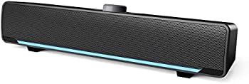 Phission USB Powered Sound Bar Speakers for Computer