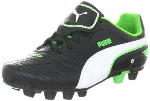 Puma - Botas de fútbol Infantil, tamaño 38 UK, Color Negro