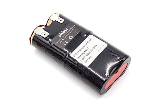 vhbw batería 1800mAh (4.8V) para limpiador, escoba eléctrica Philips FC6125/01 por FC6125.