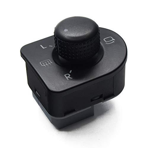 TGJYK Ajustar el Interruptor de Espejo del Lado del botón/Ajuste para Volkswagen VW/Ajuste para Escarabajo/Ajuste para Jetta/Ajuste para Passat B5 / Fit for Golf 4 OE: 1J1 959 565E / 1J1959565E