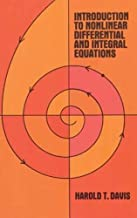 Introduction to Nonlinear Differential and Integral Equations (Dover Books on Mathematics)