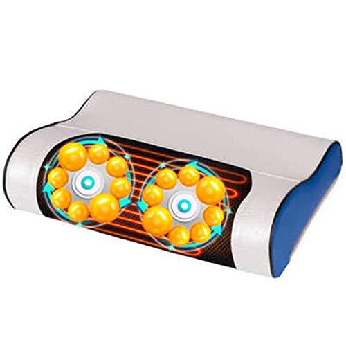 Yqdhb Home Massagegeräte Tragbare Shiatsu-Polster Beheizte Massage-Matratzenauflagen 8D-Massagemodus Lindern Den Ganzkörperdruck Sowie Hüft- Und Beinschmerzen