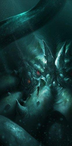 Asmodee ABY03USASM Abyss Kraken-Erweiterung