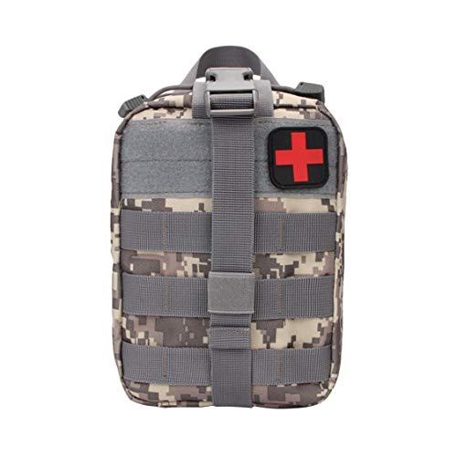 Dynamovolition Outdoor Tactical Medical Bag Travel First Aid Kit Multifunctional Waist Pack Camping Climbing Bag Emergency Case Survival Kit