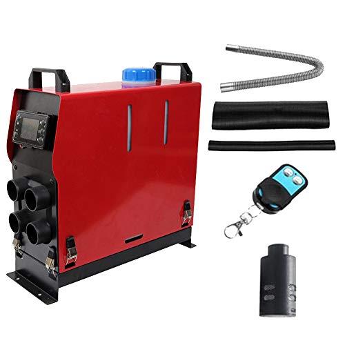 Minocool Upgraded Diesel Heater 5KW Diesel Air Heater, 12V All in One Kit Diesel Parking Heater with LCD Display & Remote Control, Car Diesel Heater for RV Trucks Boat Bus Car Trailer, Motor-home