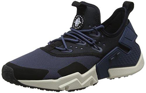 Nike Air Huarache Drift, Chaussures de Gymnastique Homme Bleu (Thunder Blue/Desert Sand/Black 401) 47 EU