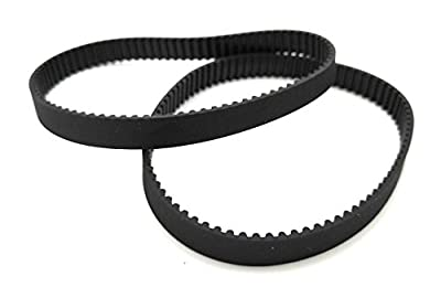GT2 Closed Timing Belt 6 mm Wide, 2 pieces each (340mm)