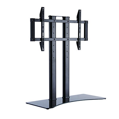 LogiLink BP0024 - Profi TV-Halterung / TV-Ständer mit Höhenverstellung für 37-65 Zoll (LCD, LED, OLED, …), Farbe: Schwarz