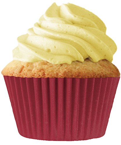 Burgundy Cupcake Papers, Standard Muffin Liners - 32 count by Cupcake Creations