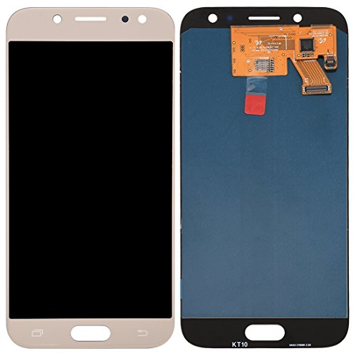 Compatibele Vervangings IPartsBuy for Samsung Galaxy J5 (2017) / J530 LCD-scherm + Touch Screen Accessory (Color : Gold)