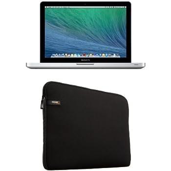 "Apple MacBook Pro 13"" Retina Argent (2015) (Intel Core i5, 8 Go de RAM, SSD 512 Go, Intel Iris Graphics 6100, Mac OS Yosemite) + étui de protection AmazonBasics"