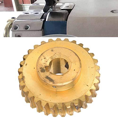 DAUERHAFT Peeler Large Gear usable para 801 Shovel Paper Machine 30 Dientes Gear