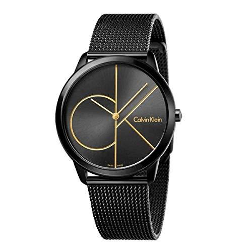 Calvin Klein Reloj Analogico para Hombre de Cuarzo con Correa en Acero Inoxidable K3M214X1