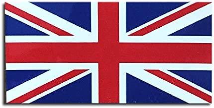 イギリス 国旗 ステッカー ( スーツケース ・ 車 にも貼れる 防水 シール ) (S 約75mmx37mm)