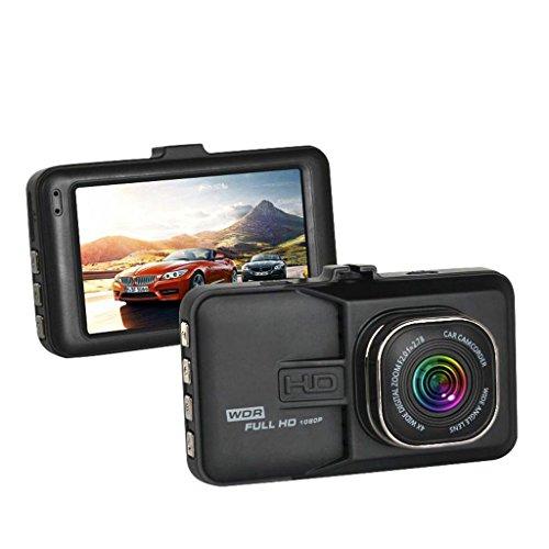 Haia7 K4 k 7,6 cm Caméra de Voiture Caméra Full 1080p véhicule Enregistreur vidéo Dash Cam de 120 degrés