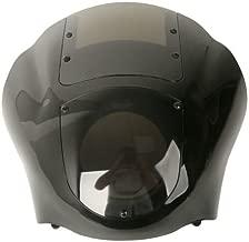 TCMT Quarter Fairing & Smoke Windshield Fits For Harley XL 883 1200 1988-Up Dyna 1995-2005