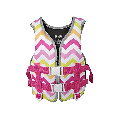 Swim Jackets for Kids 50-90lbs , Water Sports Vest for Children, Watersports Accessories for Pool Swimming Training Boating Surfing Sailing Kayaking, Lightweight PFD Toddler Swim Vest (C, XS)