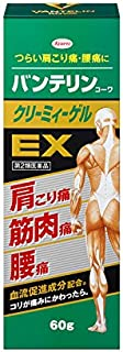 【第2類医薬品】バンテリンコーワクリーミィーゲルEX 60g ※セルフメディケーション税制対象商品