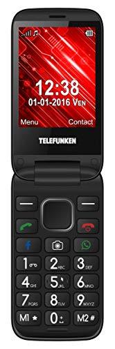 Telefunken TM 360 - Teléfono móvil Negro