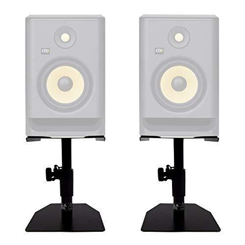 Gorilla gsm-50altavoz de escritorio monitor de estudio Stands mesa superior (par) Inc garantía de por vida