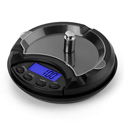 Ataller Digital Ashtray Scale Precision Pocket Scale Mini LCD Display Digital Jewelry Herbs Weighing Electronic Measure 001g200g 200g001g
