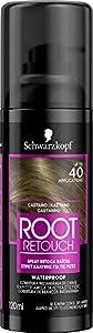 Schwarzkopf Root Retoucher – Spray retoca raíces - Coloración del Cabello – Hasta 40 aplicaciones – Disimula el efecto raíz