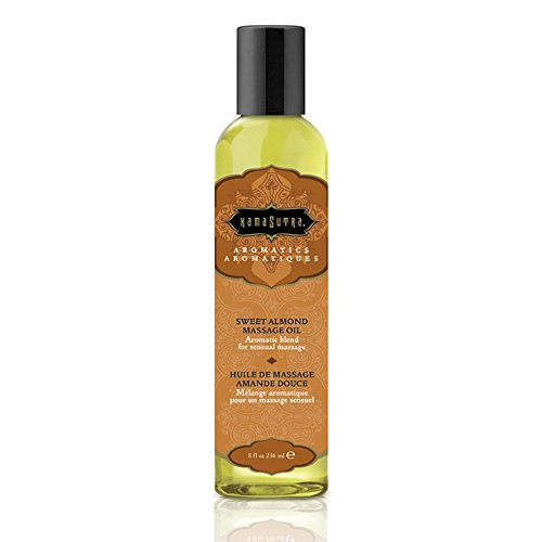 Kama Sutra Massage Oil 8 oz - Sweet Almond