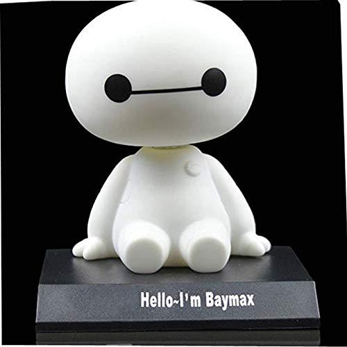 DANUC Pop Big Hero 6 Baymax Cute Cartoon Bobblehead Doll Toy Car Accessories/Dashboard Bobblehead for Car/ Interior Decoration, Bobble Head Toy, Kid's Gift