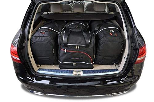 KJUST Reisetaschen 4 STK Set kompatibel mit Mercedes-Benz C Kombi W205 2014 -